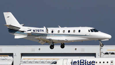 A picture of N70TH - Cessna 560XL Citation Excel - Delta Private Jets - © Christoph Flink