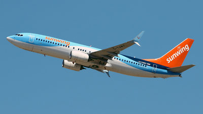 A picture of GTAWV - Boeing 7378K5 - TUI fly - © Javier Rodriguez - Amics de Son Sant Joan