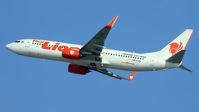 HS-LUQ - Boeing 737-8GP - Thai Lion Air
