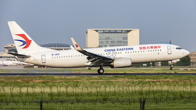 B-1421 - Boeing 737-89P - China Eastern Airlines