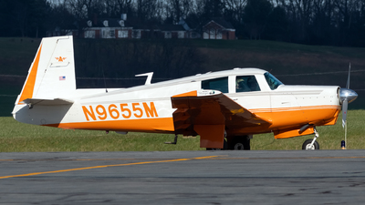 N9655M - Mooney M20C - Private