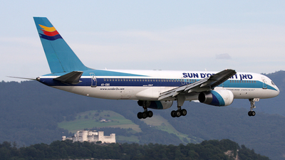 4X-EBS - Boeing 757-258 - Sun d'Or International Airlines