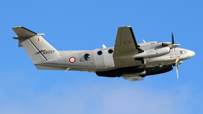 AS1227 - Beechcraft B200 Super King Air - Malta - Armed Forces