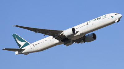 B-KQW - Boeing 777-367ER - Cathay Pacific Airways