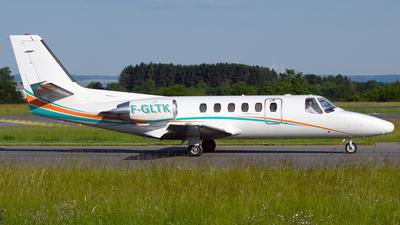 F-GLTK - Cessna 550 Citation II - VallJet