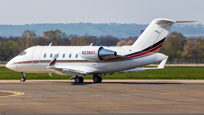 N238QS - Bombardier CL-600-2B16 Challenger 650 - NetJets Aviation
