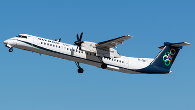 SX-OBE - Bombardier Dash 8-Q402 - Olympic Air