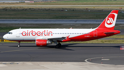 D-ABZE - Airbus A320-216 - Air Berlin