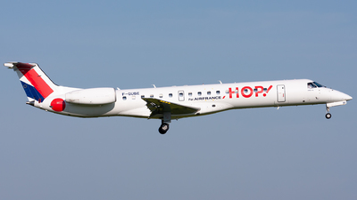F-GUBE - Embraer ERJ-145MP - HOP! for Air France