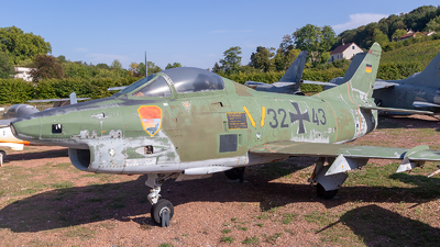 32-43 - Fiat G91-R/3 - Germany - Air Force