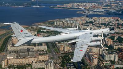 RF-34099 - Tupolev Tu-142M3 - Russia - Navy