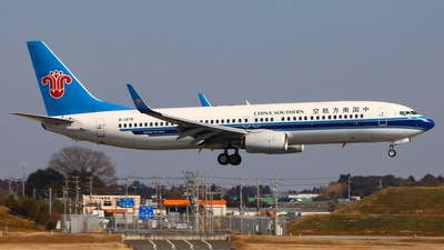 B-1979 - Boeing 737-86N - China Southern Airlines
