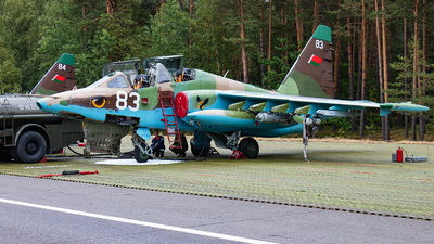 83 - Sukhoi Su-25UB Frogfoot - Belarus - Air Force