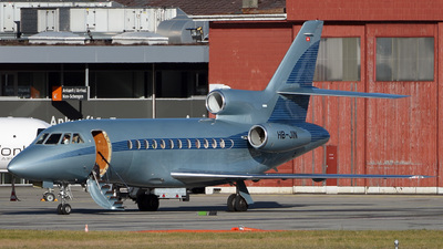 HB-JIN - Dassault Falcon 900EX - Jet Aviation Business Jets