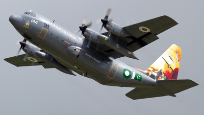 4144 - Lockheed L-100 Hercules - Pakistan - Air Force