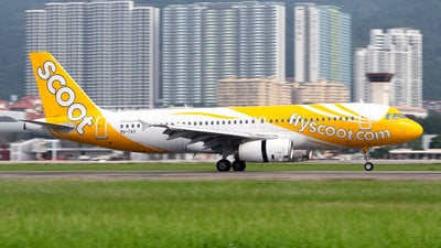 9V-TAX - Airbus A320-232 - Scoot