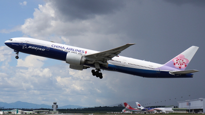 A picture of B18007 - Boeing 777309(ER) - China Airlines - © Vicknesh PS