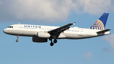 N430UA - Airbus A320-232 - United Airlines