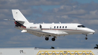 N524QS - Cessna Citation Latitude - NetJets Aviation