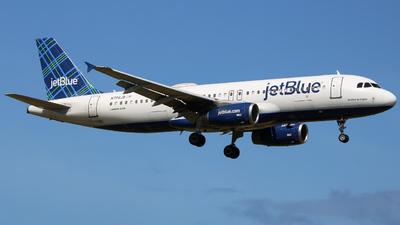 N706JB - Airbus A320-232 - jetBlue Airways