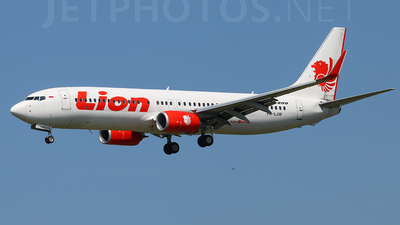 PK-LJW - Boeing 737-8GP - Lion Air