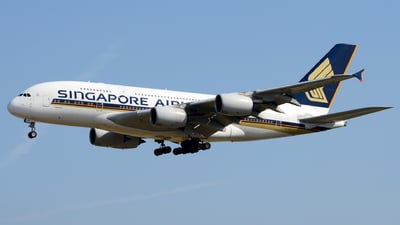9V-SKP - Airbus A380-841 - Singapore Airlines
