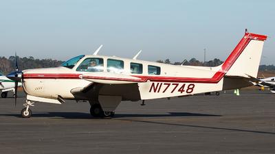 N17748 - Beechcraft A36 Bonanza - Private