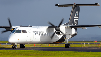 A picture of ZKNEU - De Havilland Canada Dash 8300 - Air New Zealand - © Braedyn King