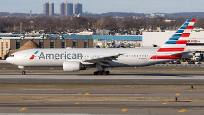 A picture of N784AN - Boeing 777223(ER) - American Airlines - © JinZi
