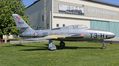 51-17055 - Republic RF-84F Thunderflash - Norway - Air Force