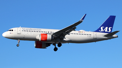 A picture of EISIF - Airbus A320251N - SAS - © n94504