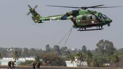IA-1180 - Hindustan Aeronautics ALH Dhruv - India - Army