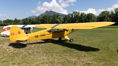 HB-ONG - Piper J-3C-65 Cub - Private