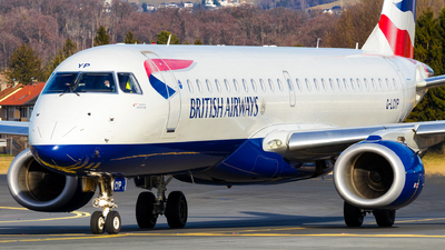 A picture of GLCYP - Embraer E190SR - British Airways - © Simon Prechtl
