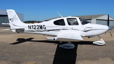 A picture of N122MG - Cirrus SR22 - [1250] - © David Cook