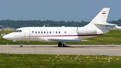 L1-01 - Dassault Falcon 2000EX - Slovenia - Armed Forces