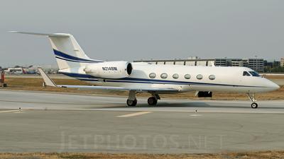 A picture of N214BM - Gulfstream IV - [1050] - © Carlos Vaz