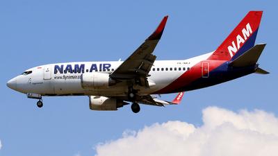A picture of PKNAJ - Boeing 737524(WL) - Nam Air - © Alvin Imanuel