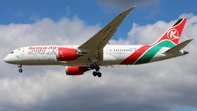 A picture of 5YKZA - Boeing 7878 Dreamliner - Kenya Airways - © J.M.Carballo