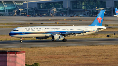 B-2280 - Airbus A321-231 - China Southern Airlines