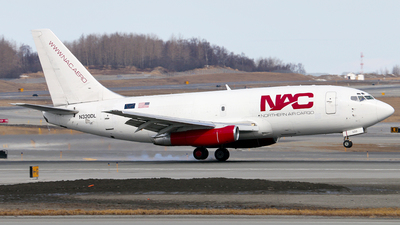 N320DL - Boeing 737-232(Adv)(F) - Northern Air Cargo (NAC)
