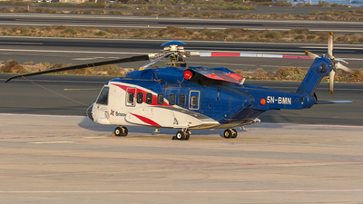 5N-BMN - Sikorsky S-92A Helibus - Bristow Helicopters