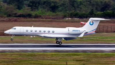 N999FH - Gulfstream G550 - Private