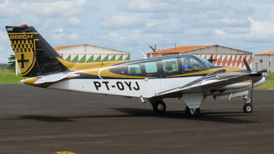 PT-OYJ - Beechcraft 58 Baron - Private