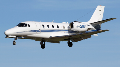 G-CGMF - Cessna 560XL Citation Excel - Private