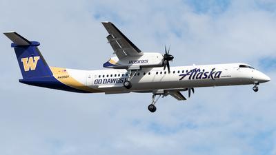 A picture of N435QX - De Havilland Canada Dash 8400 - Alaska Airlines - © Nick Sheeder