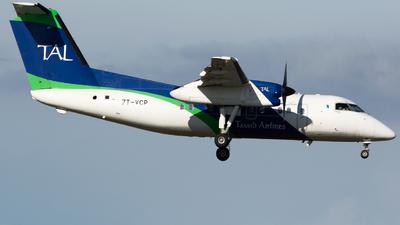 A picture of 7TVCP - De Havilland Canada Dash 8200 - Tassili Airlines - © Nicholas Carmassi - RomeAviationSpotters