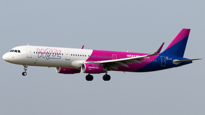 HA-LTA - Airbus A321-231 - Wizz Air