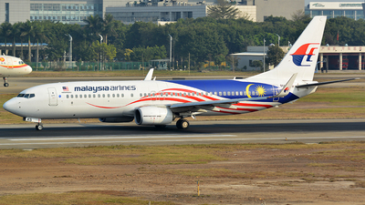 9M-MXS - Boeing 737-8H6 - Malaysia Airlines