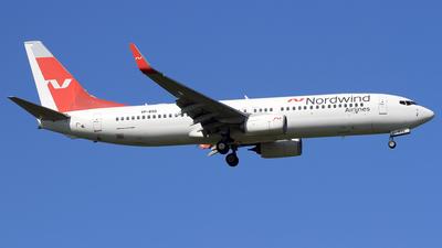 A picture of VPBSQ - Boeing 7378ME - Nordwind Airlines - © Eddie Heisterkamp